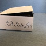 Boites Postales - brun - 20-9x20-4x9