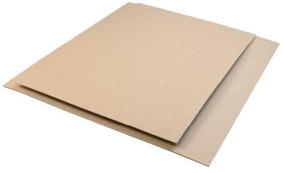 Plaques de Cartons ondulés