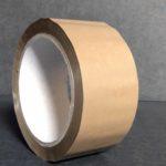 Bande Adhésive - Ruban Adhésif - Autocollant - Papier collant - pvc - 5-cm - 66-m - 250-e - havane
