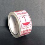 Bande Adhésive - Ruban Adhésif - Autocollant - Papier collant - pvc-fragile - 5-cm - 66-m - 290-e - blanc